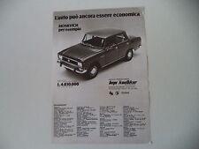 advertising Pubblicità 1980 MOSKVICH 2140