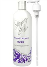 Slippery Stuff Liquid - 16 Oz. Water Based Lubricants Glycerin-free Adult Lube