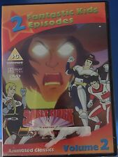 SABER RIDER AND THE STAR SHERIFS Vol.2 ~ Cult Kids TV Cartoon UK DVD