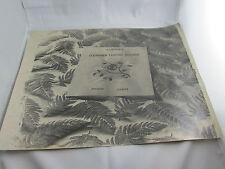 ancienne photo tirage original blanc et demilly fougeres etude pour soirie lyon