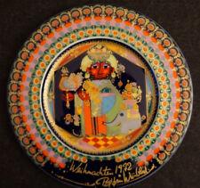 Rosenthal Porzellan Wandteller/ Weihnachtsteller 1972 Björn Wiinblad Design OVP
