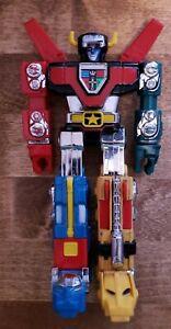 """1981 Bandai TOEI 6"""" VOLTRON Lion Force Diecast Robot Action Figure Taiwan"""