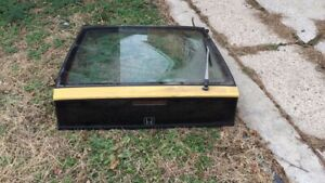 88-91 Honda CRX SI Tailgate Hatch Liftgate Trunk Yellow With Glass Complete OEM