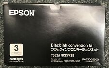 Epson T562A/ICCVK38 Black Ink Conversion Kit - For Stylus Pro 7800/9800 PX-7500/