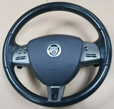 JAGUAR XF MULTIFUNCTION PADDLE SHIFT STEERING WHEEL WITH DRIVERS AIRBAG