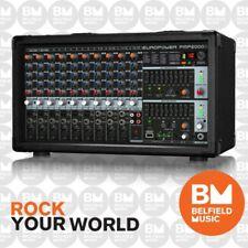 Behringer Europower PMP2000D Powered Mixer PMP-2000D - Belfield Music - BNIB