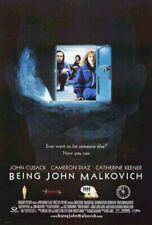 BEING JOHN MALKOVICH Original Movie Poster - Double Sided 27x40 -Diaz Cusack