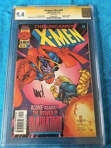 Uncanny X-Men #341 - Marvel - CGC SS 9.4 NM - Signed by Joe Madureira