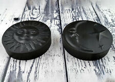 Set of 2 Large Sun & Moon Orgone Tower Busters, 5G, EMF, Protection, Orgonite