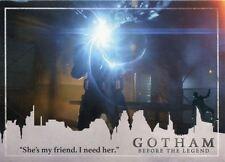 Gotham Season 2 Penguin Parallel Base Card #70 ?She?s my friend. I need her.?