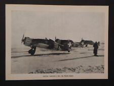 Aviazione Regia Aereonautica militare 1940 WW2  Caccia Macchi C 200 fronte russo