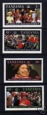 Tanzania 1987 Queens's 60th Birthday SG517/20 MNH