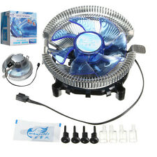 Quiet LED CPU Cooler Fan Heatsink for Intel LGA775 1155/1156 i3/i5/i7 AM2 AM3
