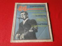 Vintage Rock N Roll Newspaper Pulp Magazine Gig 1978 Elvis Costello           P2