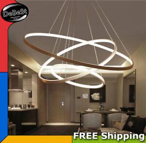 Pendant Lamp Modern Aluminum Ceiling LED Light Dining Room Chandelier Decor