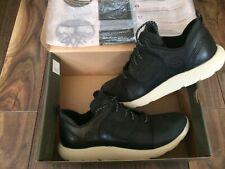 Men Timberland Sneakerboot Flyroam Leather Chukka Black/White UK 11