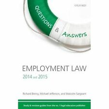 Questions & Answers Employment Law 2014-2015: Law Revision and Study Guide by M…