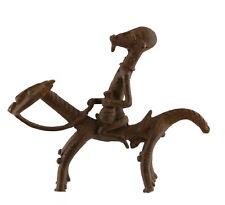 Cavalier Dogon Bronze du Mali Art Africain  -14 cm AA695