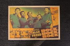 Frankie Lymon 1956 Lobby Card Rock Rock Rock Alan Freed