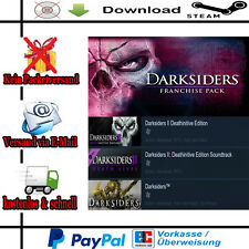 Darksiders Franchise Pack PC Action/RPG NEU DE/Multi Steam-Gift-Link