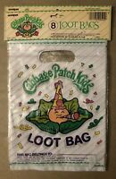 Vintage CABBAGE PATCH KIDS 1984 Loot BAGS 16 pcs Birthday Party Favor NEW Retro