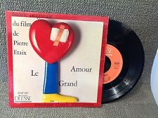 FRENCH EP BO OST - LE GRAND AMOUR - PIERRE ETAIX - DEESSE DDP 127