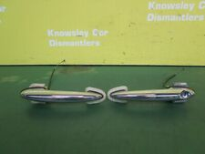 MINI ONE HATCH R56 3DR (06-10) EXTERIOR DOOR HANDLES PAIR CHROME