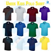 Kids Poloshirt UNEEK UC103 Children Girls Boys Polo Tee Shirt School Uniform TOP