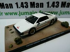 JB68E voiture 1/43 IXO 007 JAMES BOND LOTUS ESPRIT Turbo for your eyes only