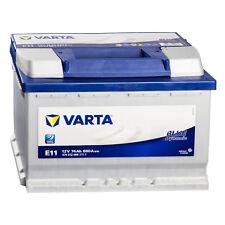 VARTA Blue Dynamic Batterie Autobatterie E11 Starterbatterie 12V 74Ah *NEU*