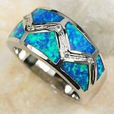 Unbranded Opal Stainless Steel Fashion Jewellery