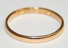 Fine Vintage 22ct Gold Wedding Circa 1949/50 Size J