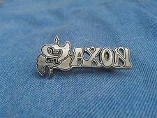Saxon logo pin badge heavy metal judas priest motorhead