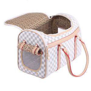 Hundetasche Transporttasche für 3-5kg Hunde und Katzen Hundebox Tragetasche PC19