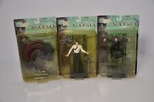 "THE MATRIX ""THE FILM"" ACTION FIGURES: SENTINEL/MR. ANDERSON/TRINITY"