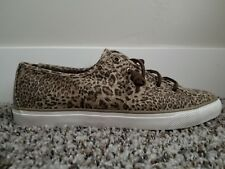 Sperry Top-Sider Seacoast Cheetah STS97049 Taupe Cheetah Women's Size 10 M