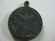 VINTAGE HISTORICAL NEBRASKA STATE VISUAL ARTS MEDALLION