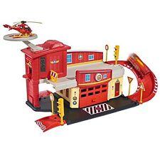 Dickie Toys Feuerwehrmann Sam Fire Rescue Centre Rettungsstation Spielzeug~~