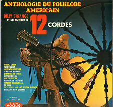 "BILLY STRANGE ""ANTHOLOGIE DU FOLKLORE AMERICAIN"" 60'S LP VOGUE 622.30"