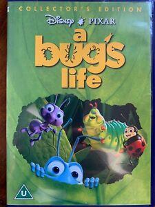 A Bug's Life DVD 1998 Walt Disney Pixar Animated Family Movie Feature Classic