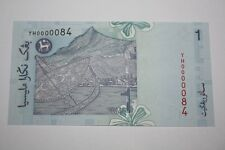 (PL) NEW: RM 1 YH 0000084 UNC 5 ZERO NICE FANCY SUPER LOW ALMOST SOLID NUMBER