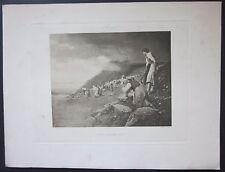 1896 SPES NOSTRA SALVE Lorenzo Delleani fotoincisione Schiaparelli Triennale