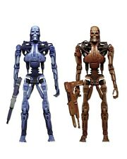 Robocop Vs The Terminator Endoesqueleto Video Juego Acción Figura 2 Pack Neca 7 ""