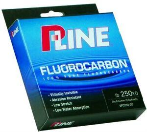 P-Line Soft Fluorocarbon Filler Fishing Spool 10lb 250yd Clear SFC250-10