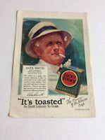 1928 MAGAZINE AD #A3-198 - Lucky Strike Cigarettes- Alex Smith Golf
