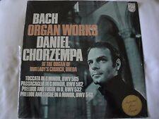 Bach: Organ Works, Daniel Chorzempa, Toccata in D Minor...PHILIPS IMPORT EX