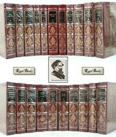 DICKENS LIBRARY COMPLETE 21 VOL - Easton Press - BLACK LABEL MOST SEALED!