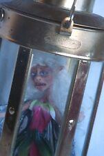 Sad Mad Fairy Doll Caught Lantern Fantasy Art Sculpture Figure Handmade OOAK