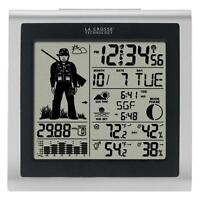 Silver Wireless Digital Forecast Station with Hunter Icon Weather Station