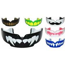 Articles protège-dents noirs pour arts martiaux et sports de combat